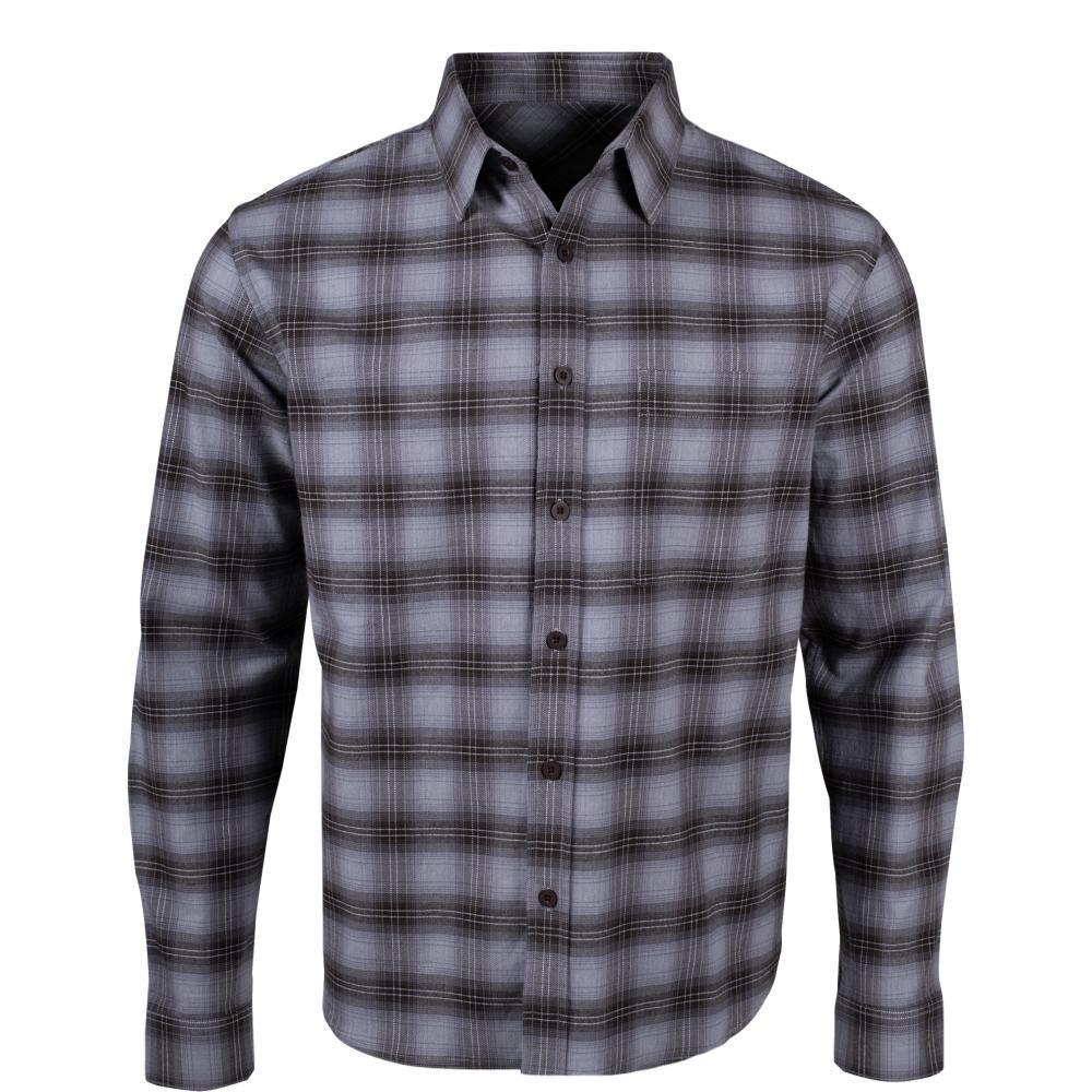 Mountain Khakis Men's Hideout Flannel Shirt HTHRGREY_244