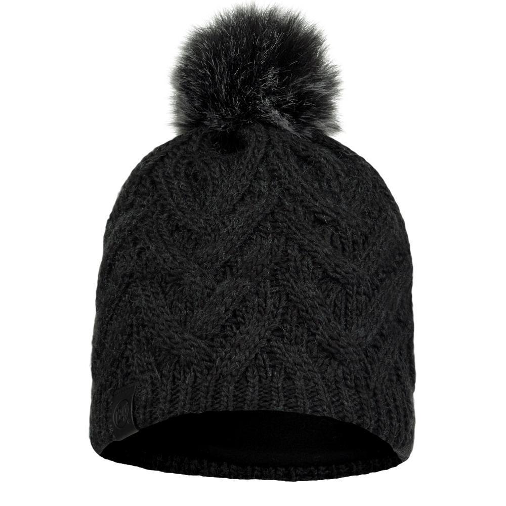 BUFF Original Knitted & Fleece Hat - Caryn Graphite GRAPHITE