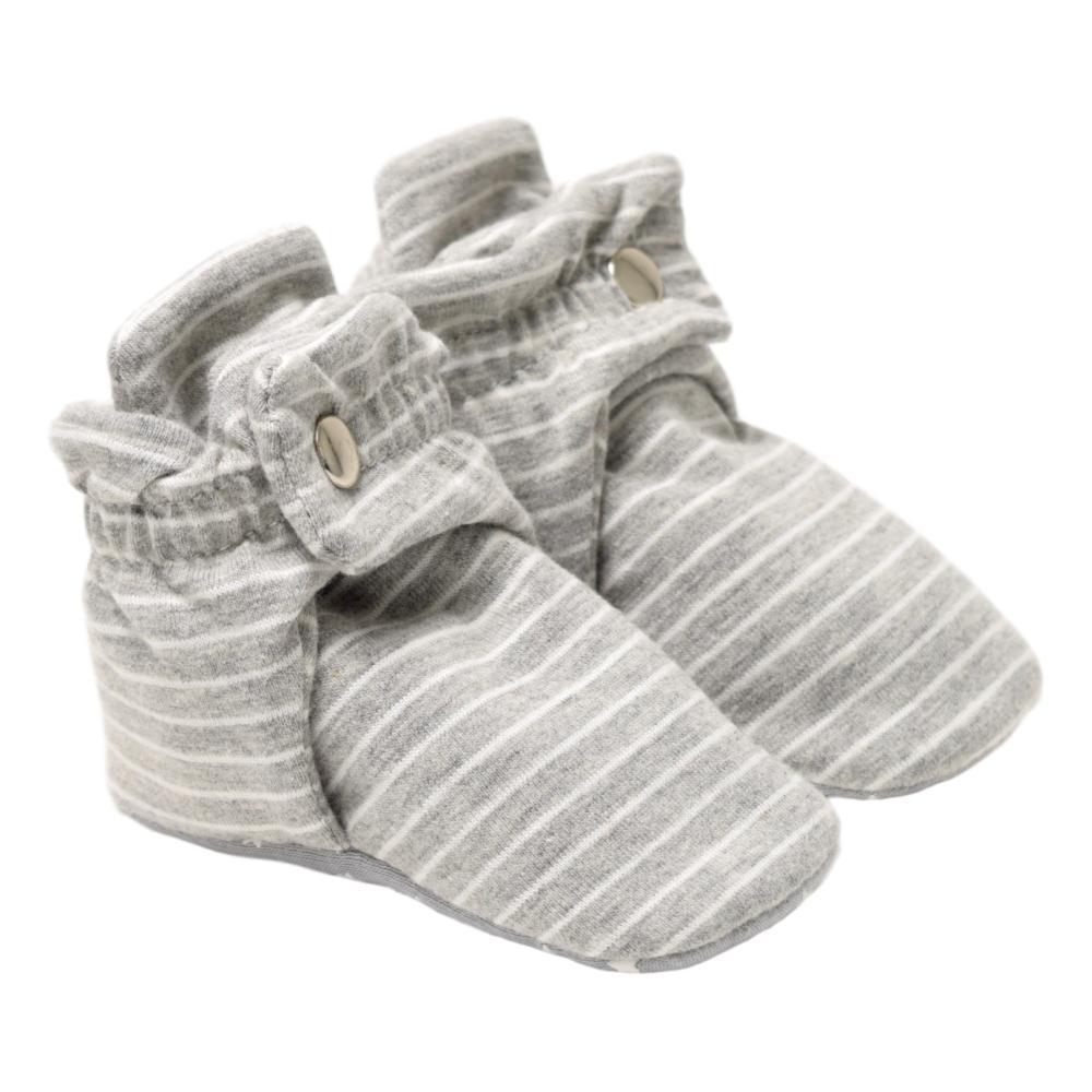 Robeez Infant Stripe Grey Booties GRYSTRIPE