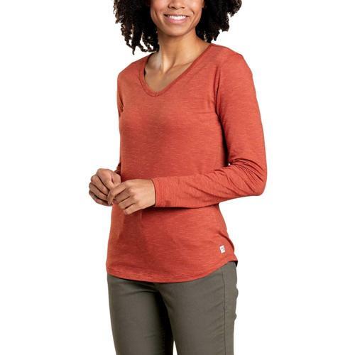 Toad&Co Women's Marley II Long Sleeve Tee Auburn_603