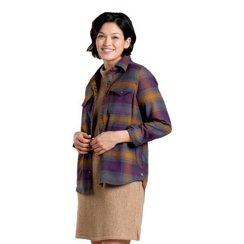 Toad&Co Women's Folk Yeah Shirt Jacket Port_531