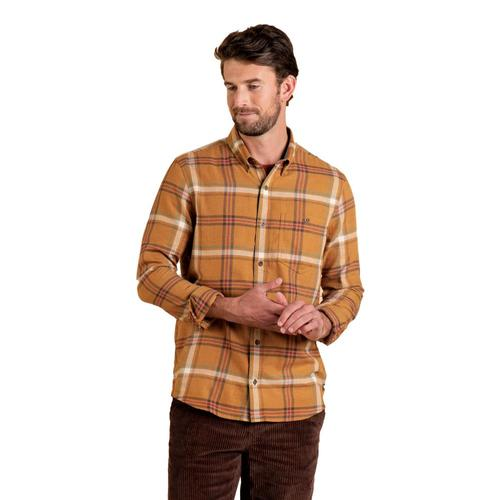 Toad&Co Men's Airsmyth Long Sleeve Shirt Palomino_251