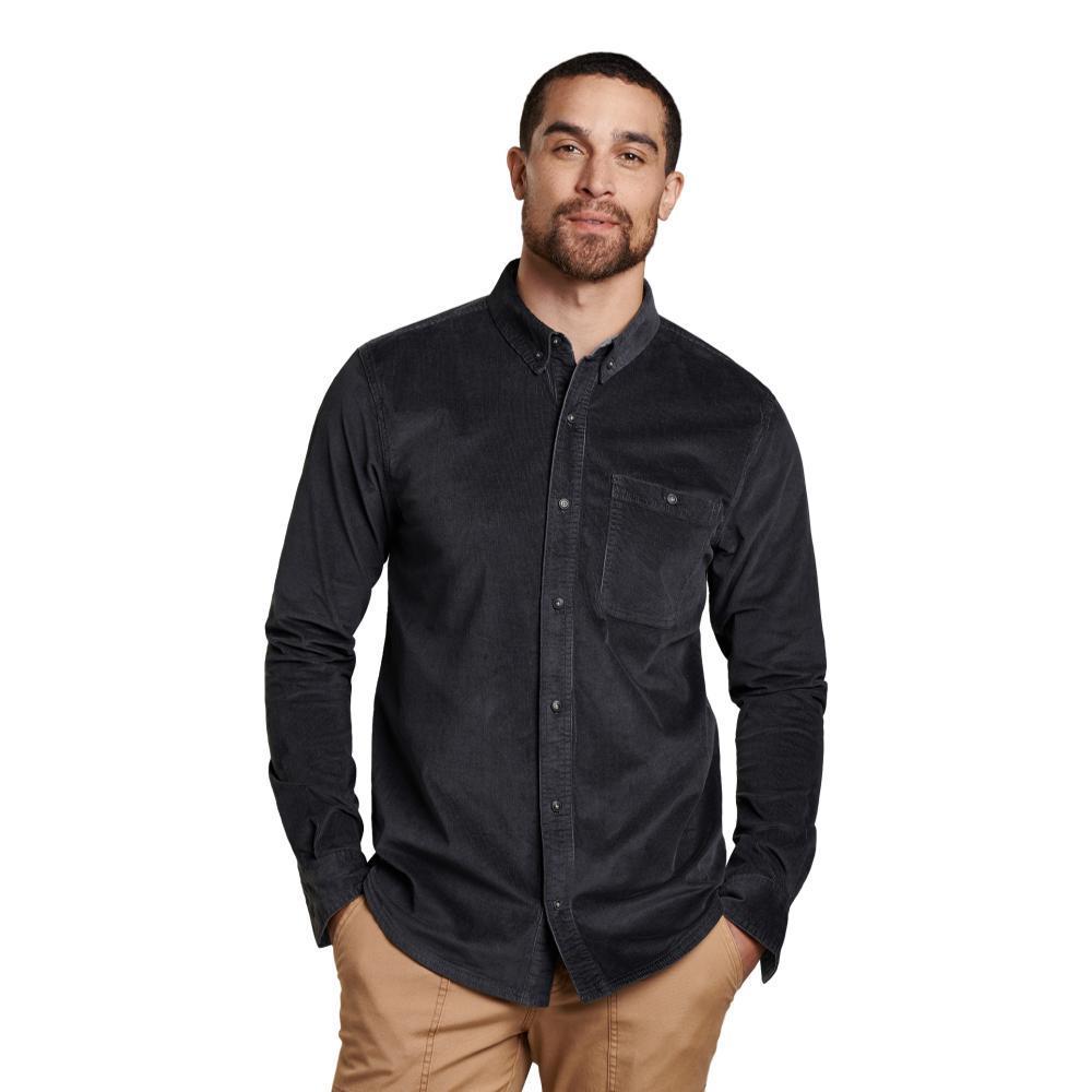 Toad&Co Men's Cruiser Cord Long Sleeve Shirt SOOT_89