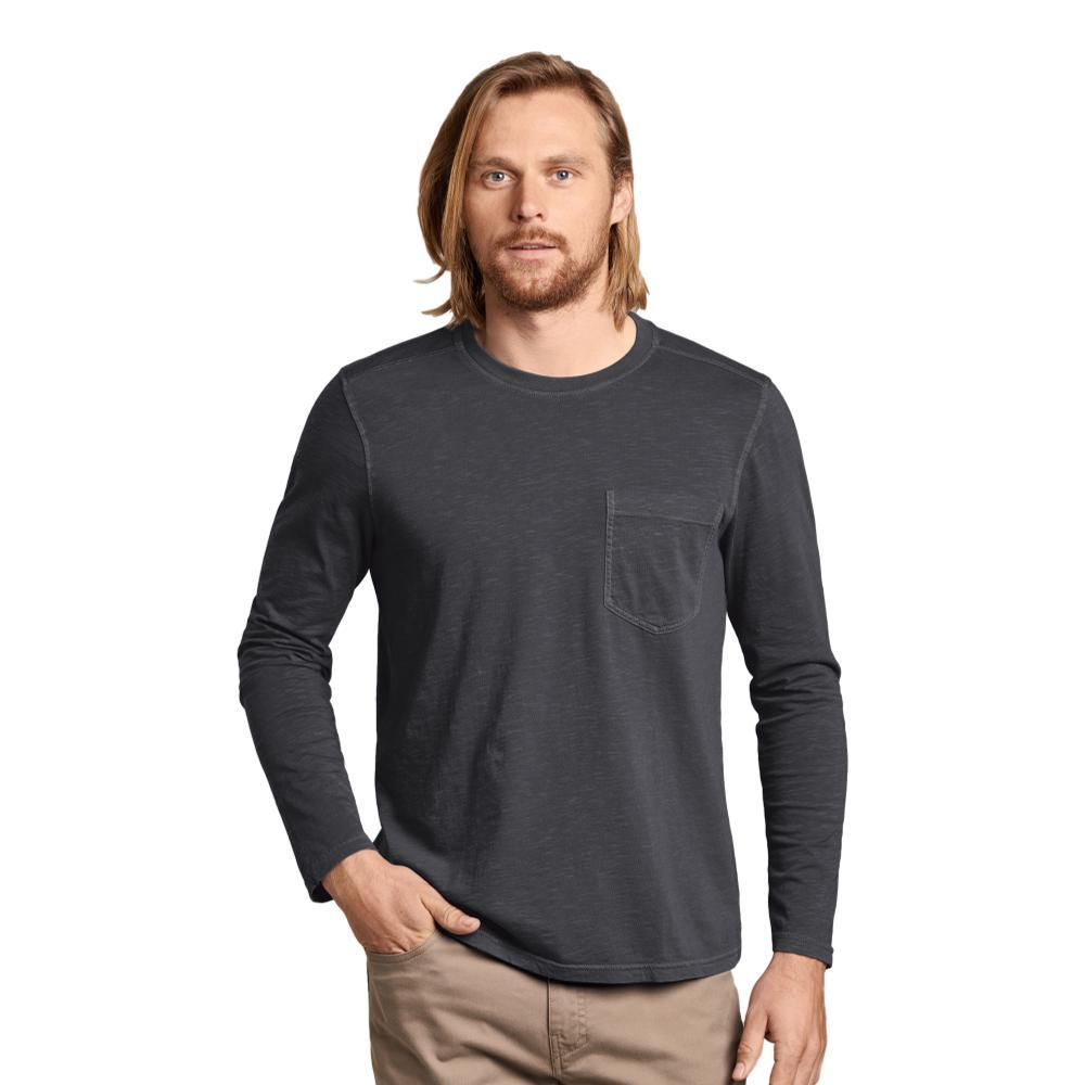 Toad&Co Men's Primo Long Sleeve Crew Shirt SOOT_89