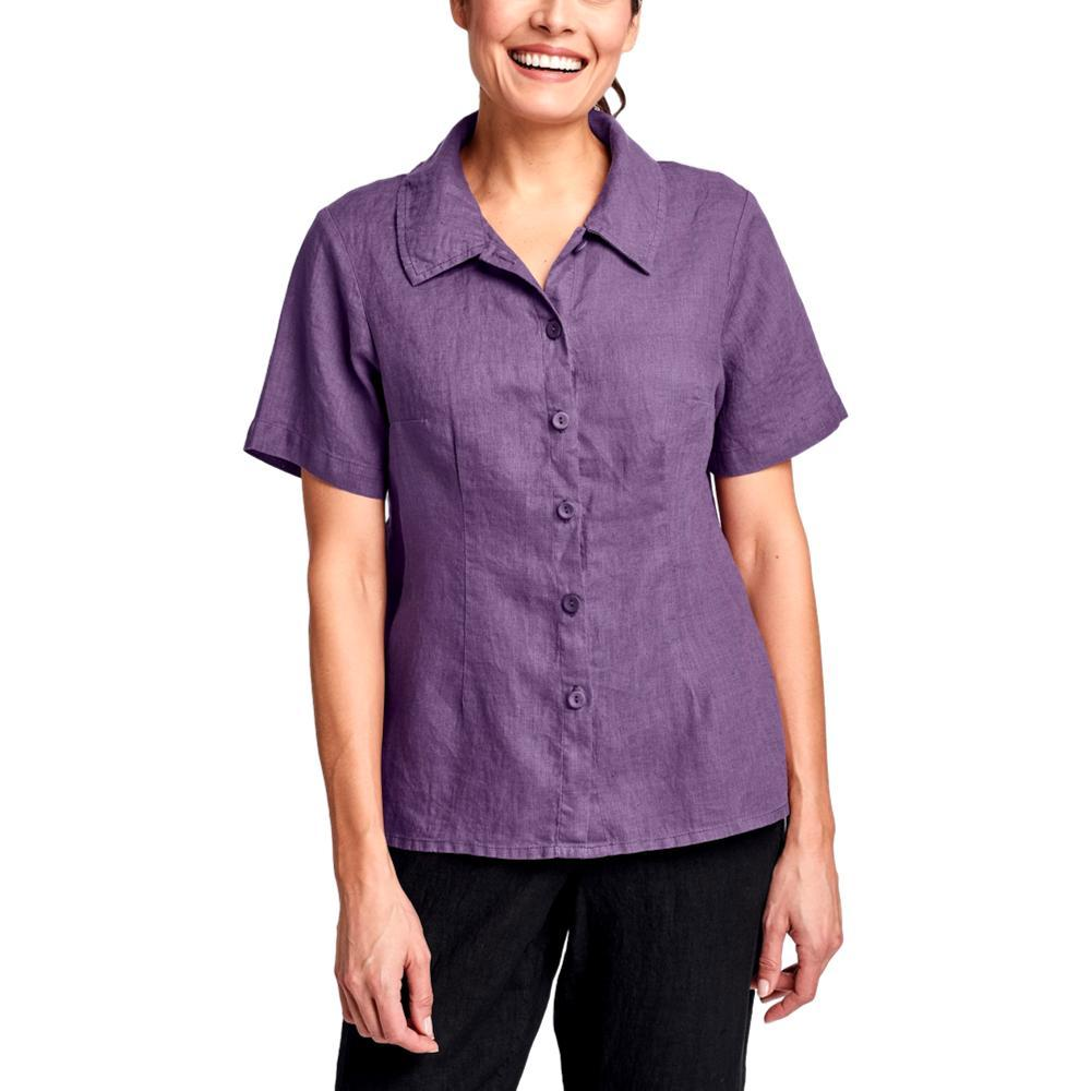 FLAX Women's Shapely Version Blouse PLUM