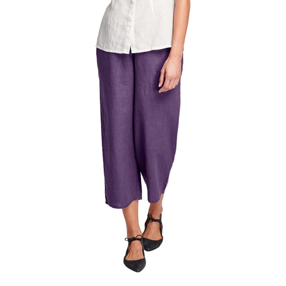 FLAX Women's Floods Pants PLUM