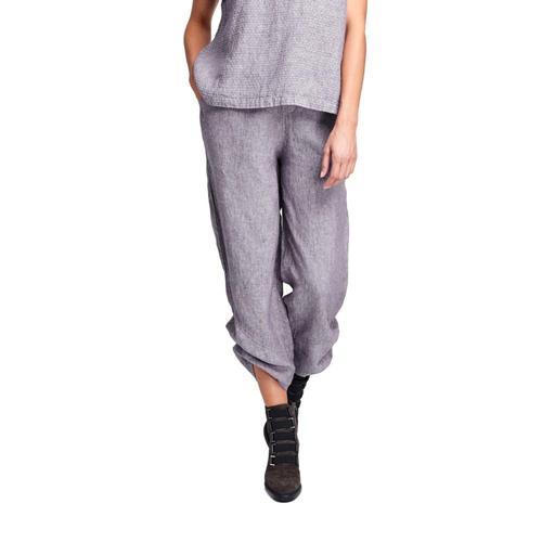 FLAX Women's Multi-Facet Pants Plumyarndye