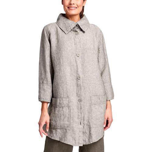 FLAX Women's Artisan Jacket Minkyarndye