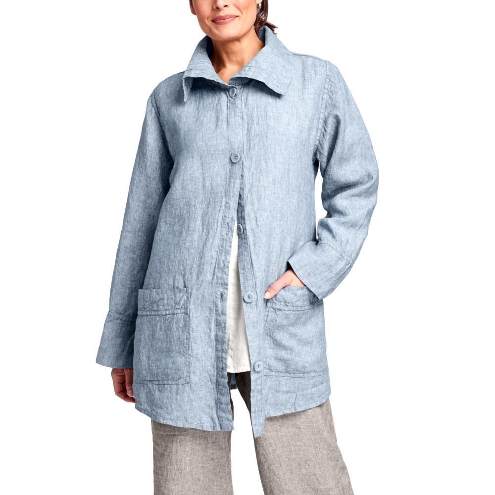FLAX Women's Artisan Jacket STEELYARNDYE