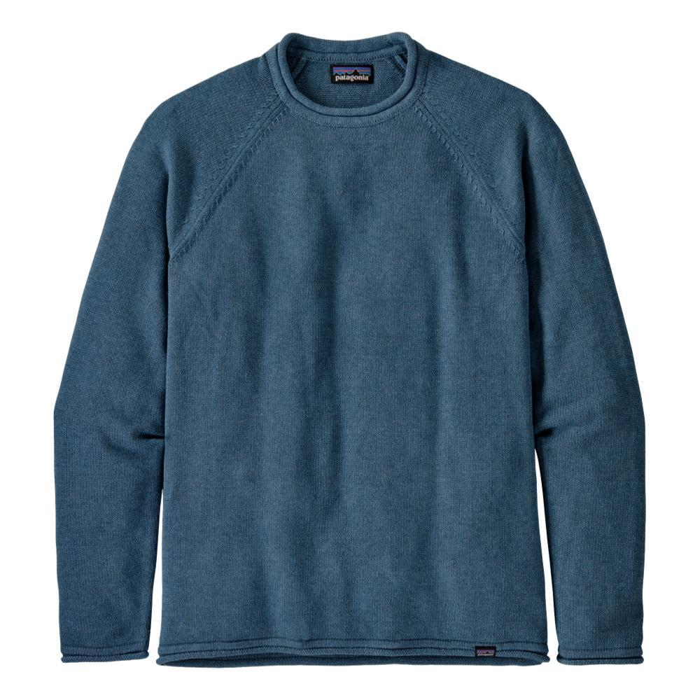 Patagonia Men's Ponderosa Pine Roll-Neck Sweater BLUE_PGBE