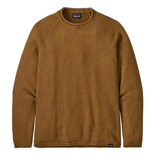 Patagonia Men's Ponderosa Pine Roll-Neck Sweater Brown_nesb