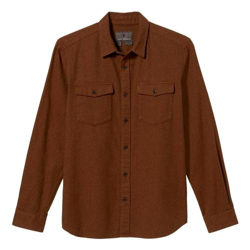 Royal Robbins Men's Bristol Organic Cotton Twill Long Sleeve Shirt Redrock_468