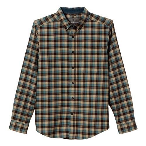 Royal Robbins Men's Lieback Organic Cotton Flannel Long Sleeve Shirt Desert_76
