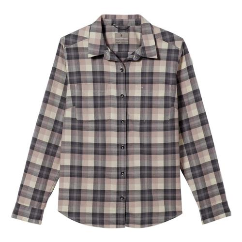 Royal Robbins Women's Lieback Organic Cotton Flannel Long Sleeve Shirt Sphinx_531