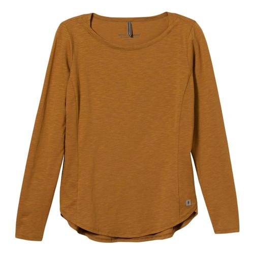 Royal Robbins Women's Yosemite Boat Neck Long Sleeve Top Brownsugar_185