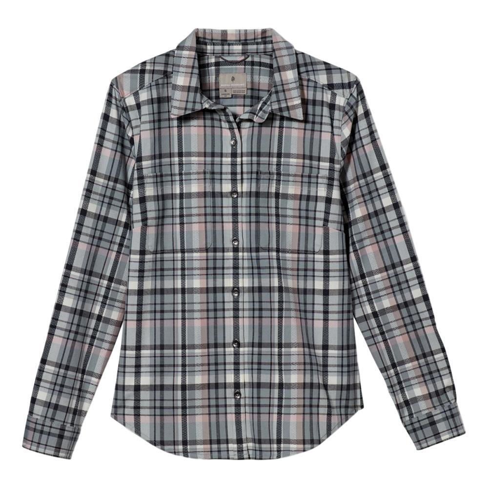 Royal Robbins Women's Thermotech Flannel Shirt LTPEWTER_166