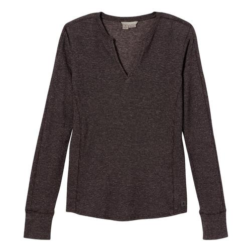 Royal Robbins Women's Mountain Henley Asphalt_568