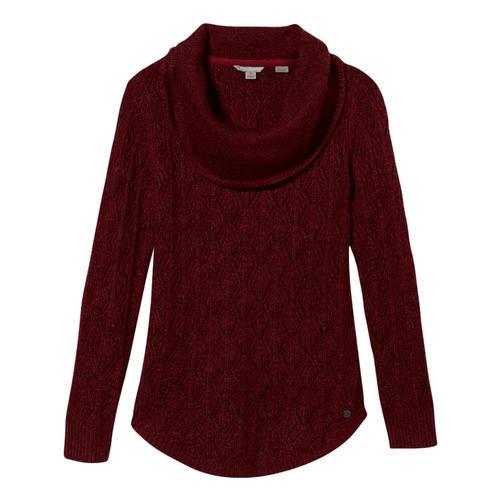 Royal Robbins Women's Sierra Pullover II Sweater Raspberry_583