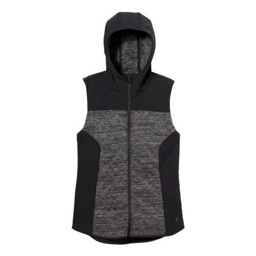 Royal Robbins Women's Shadowquilt Hooded Vest Asphalt_568