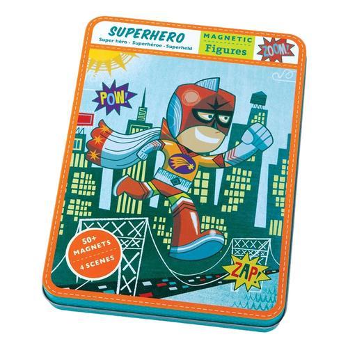 Mudpuppy Superhero Magnetic Figures