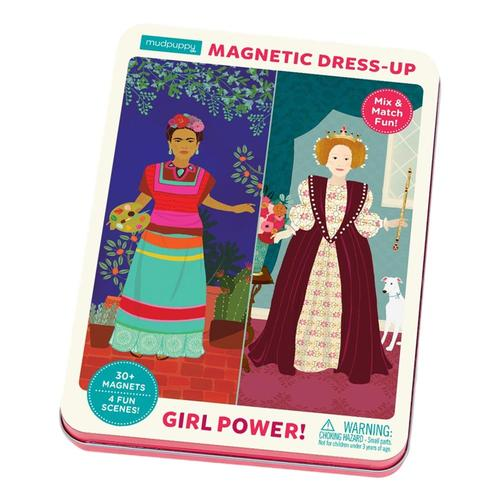 Mudpuppy Girl Power! Magnetic Figures
