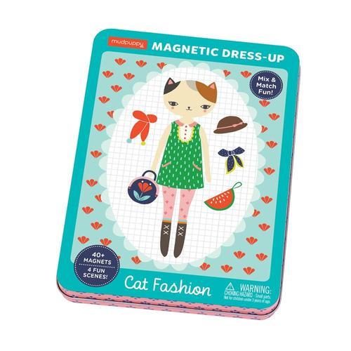 Mudpuppy Cat Fashion Magnetic Dress-Up