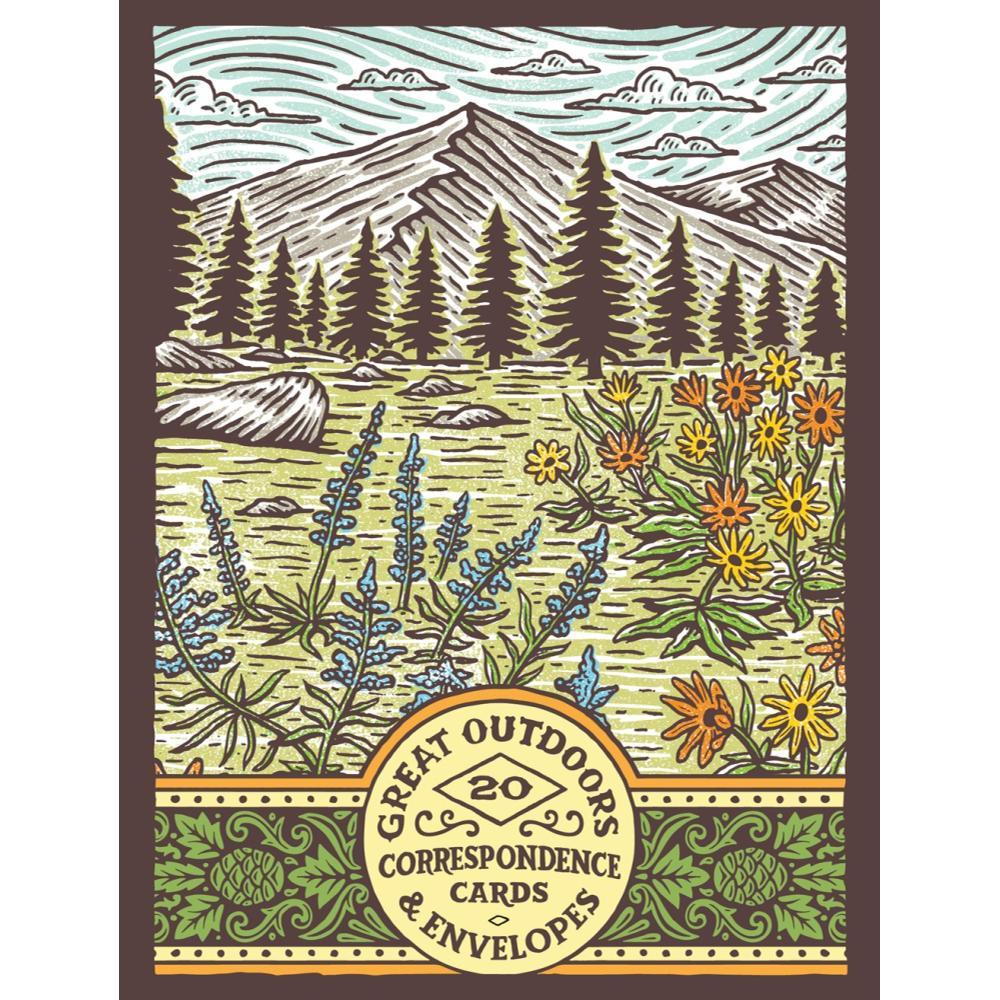 Great Outdoors Correspondence Cards By Travis Pietsch