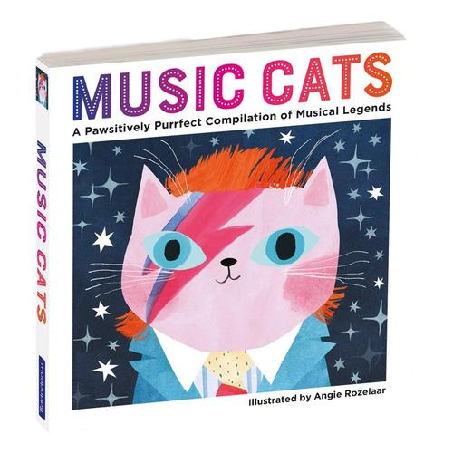 Music Cats Board Book by Mudpuppy