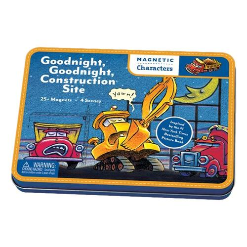 Mudpuppy Goodnight, Goodnight Construction Site Magnetic Characters Set