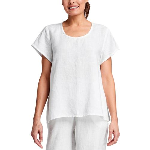 FLAX Women's Weightless Tee Cream