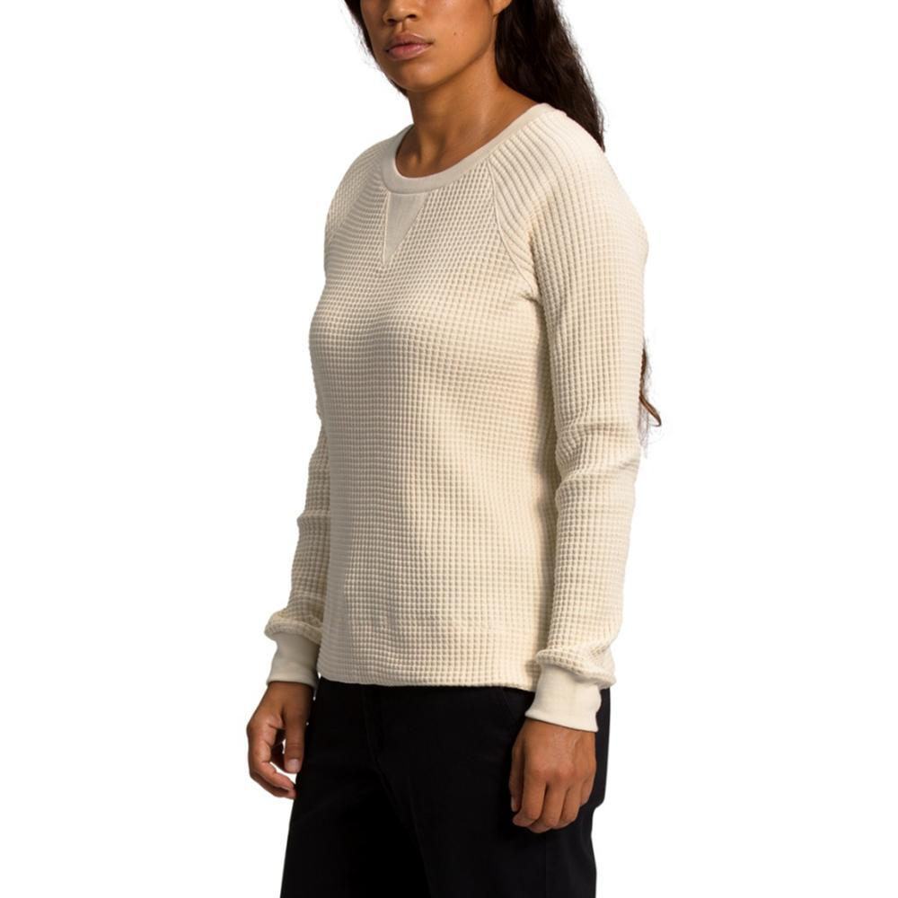 The North Face Women's Long Sleeve Chabot Crew Shirt SAND_RB6