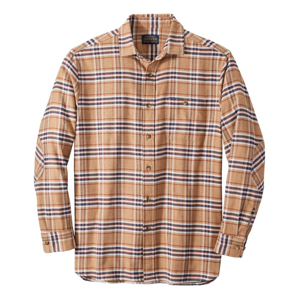 Pendleton Men's Cascade Flannel Shirt CAMEL_61516