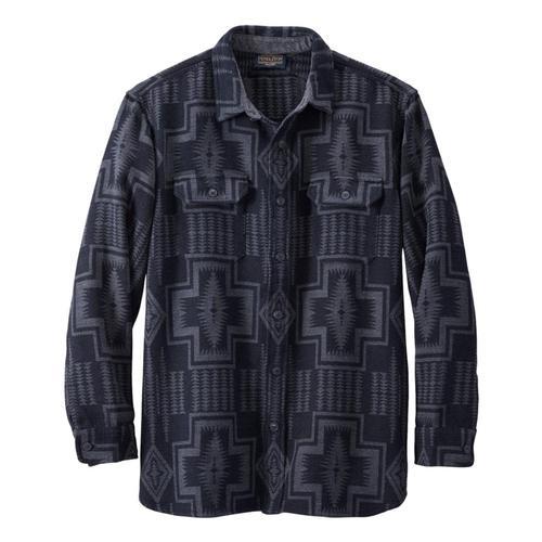 Pendleton Men's Doublesoft Flannel Driftwood Shirt Blk_79103
