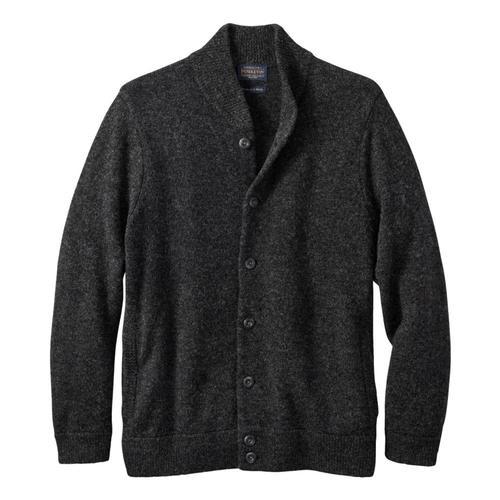 Pendleton Men's Shetland Washable Wool Cardigan Blkhtr_60702