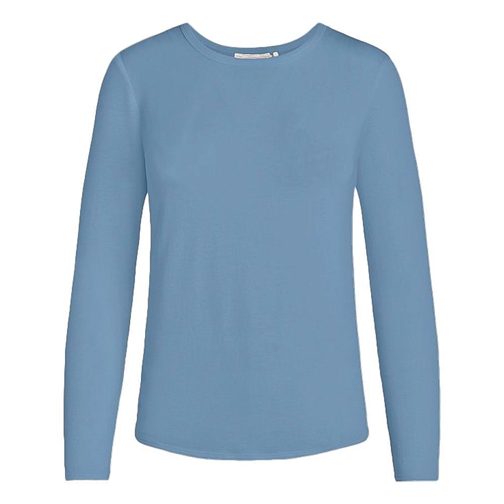 tasc Women's NOLA Bamboo Crew Neck Long Sleeve Shirt BLUE_456