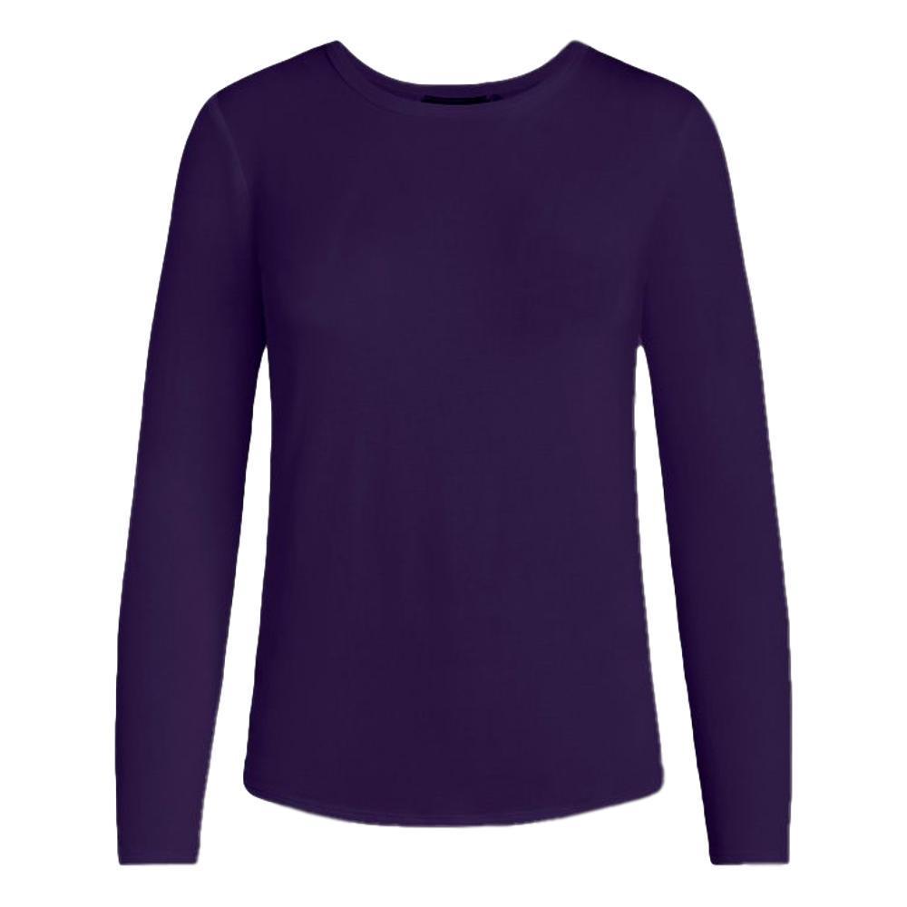 tasc Women's NOLA Bamboo Crew Neck Long Sleeve Shirt VIOLET_505