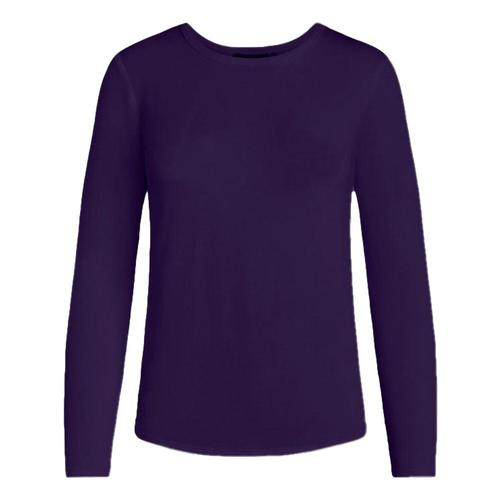 tasc Women's NOLA Bamboo Crew Neck Long Sleeve Shirt Violet_505