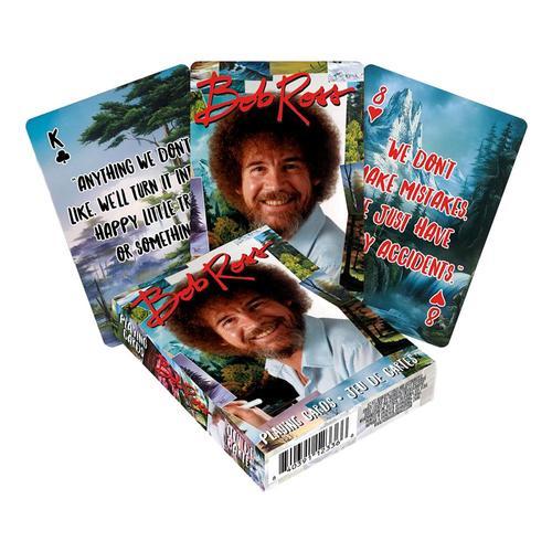 Aquarius Bob Ross Quotes Multi Image Playing Cards
