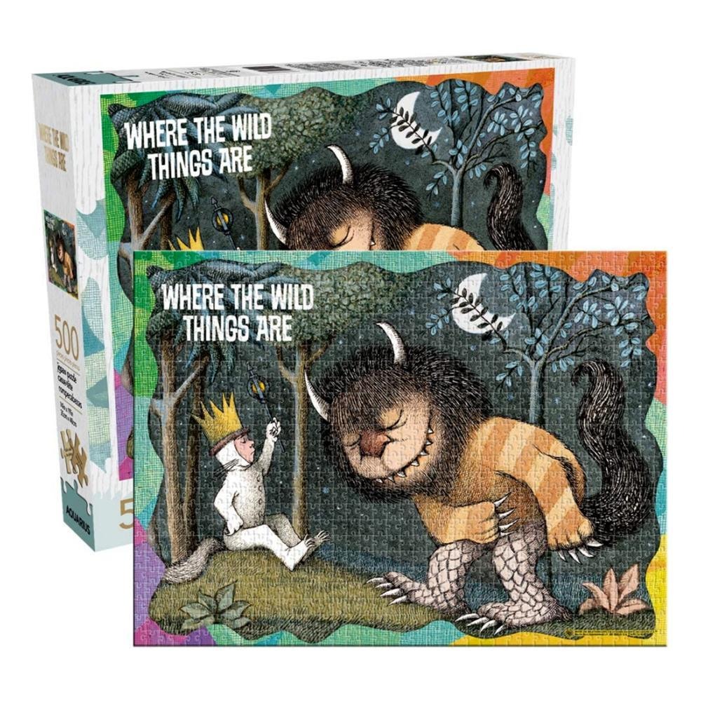 Aquarius Where The Wild Things Are 500 Piece Jigsaw Puzzle