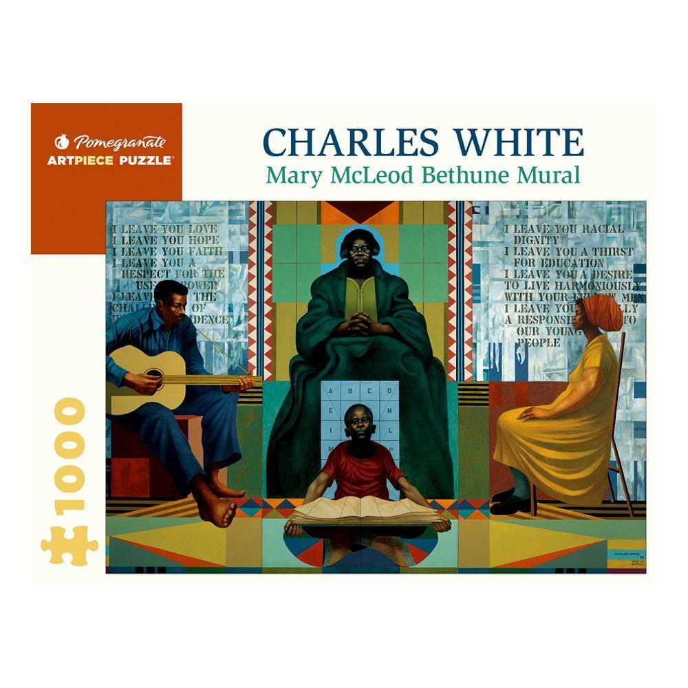 Pomegranate Charles White : Mary Mccleod Bethune 1000- Piece Jigsaw Puzzle