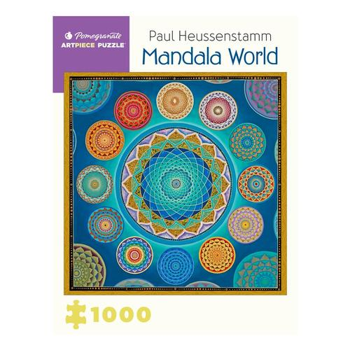 Pomegranate Paul Heussenstamm: Mandala World 1,000-piece Jigsaw Puzzle