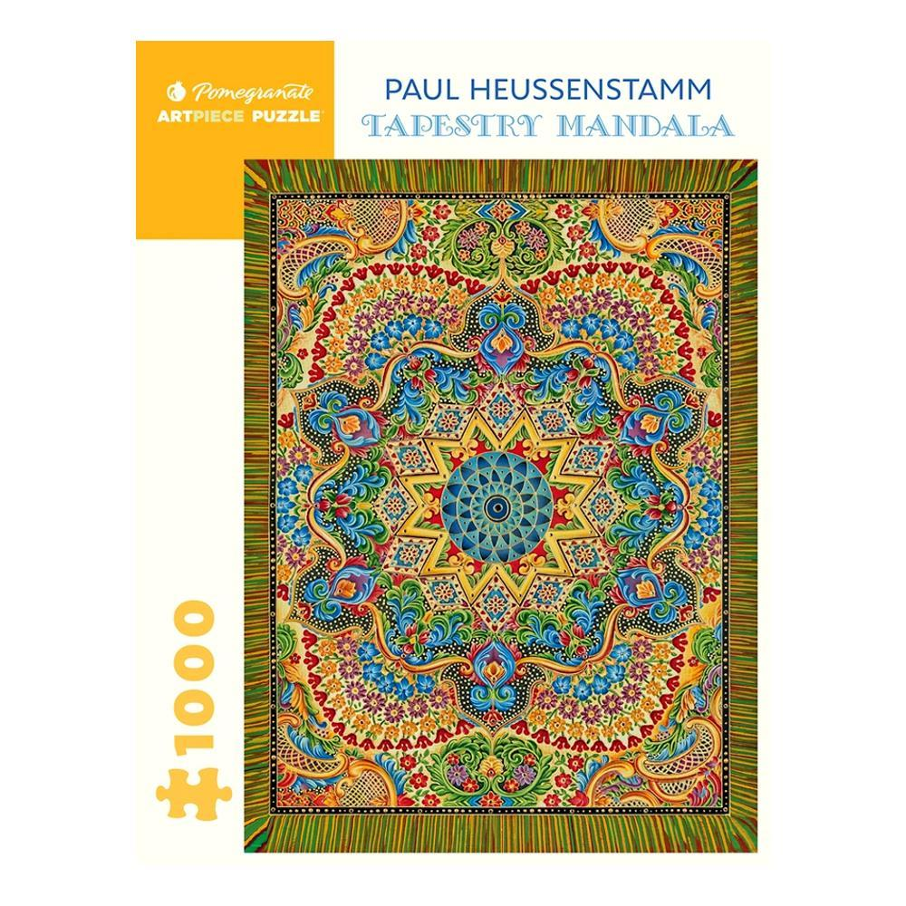 Pomegranate Paul Heussenstamm : Tapestry Mandala 1000- Piece Jigsaw Puzzle