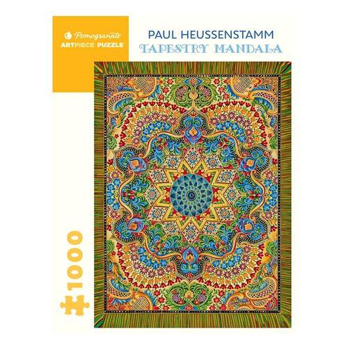 Pomegranate Paul Heussenstamm: Tapestry Mandala 1000-Piece Jigsaw Puzzle
