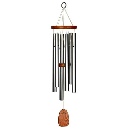 Woodstock Chimes Amazing Grace Chime - Medium, Silver Medium