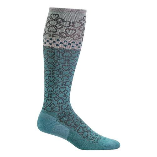 SockWell Women's Botanical Moderate Graduated Compression Socks Minera_425
