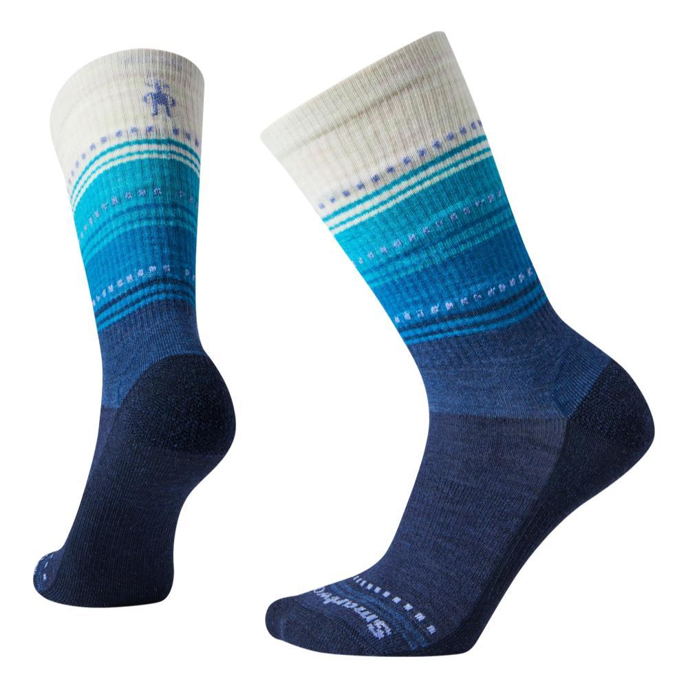 Smartwool Women's Hike Ultra Light Sulawesi Crew Socks DNAVY_092