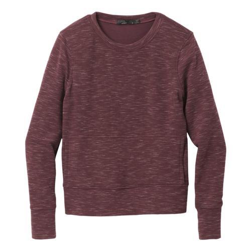 prAna Women's Sunrise Sweatshirt Plus Raisin