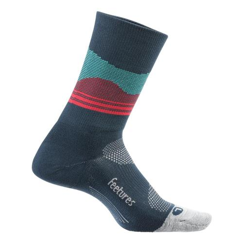 Feetures Elite Light Cushion Mini Crew Socks Frenchnavy