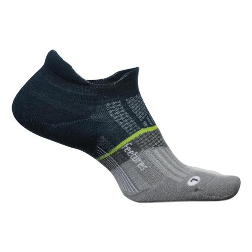 Feetures Merino 10 Ultra Light No Show Tab Socks Frenchnavy