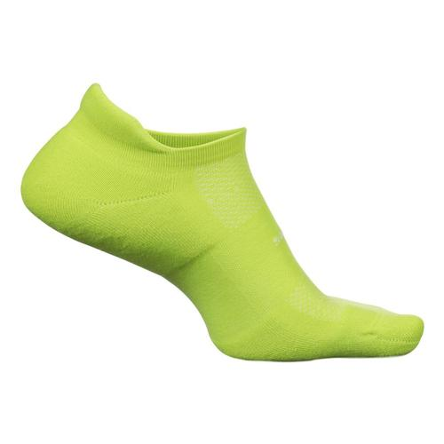 Feetures Merino 10 Ultra Light No Show Tab Socks Biolime